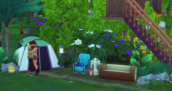 Studio Sims Creation: Cabane Perchée