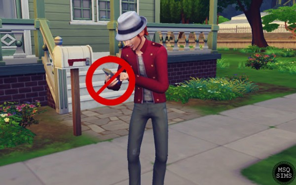 MSQ Sims: No Autonomous Browse Websites by Phone Mod