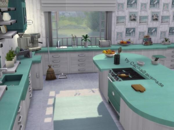 Akisima Sims Blog: Classically modern stove