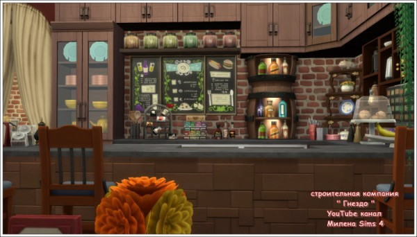 Sims 3 by Mulena: The house restaurant