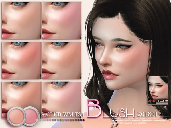 The Sims Resource: Blush 201801 by S Club