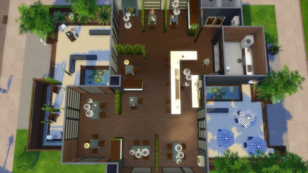 Mod The Sims: Asian Restaurant by Moscowlyly