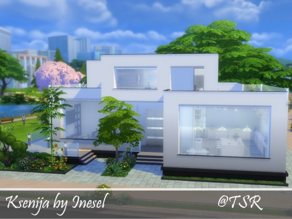The Sims Resource: Ksenija house by Inesel