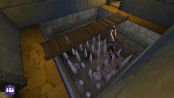Mod The Sims: Temple Floor Wood Bridge by S`ri