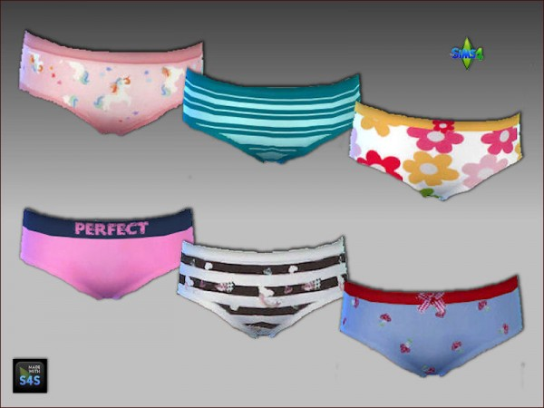 Arte Della Vita: 6 sleepwear sets for girls