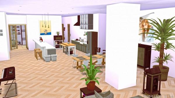Homeless Sims: Blackpink house