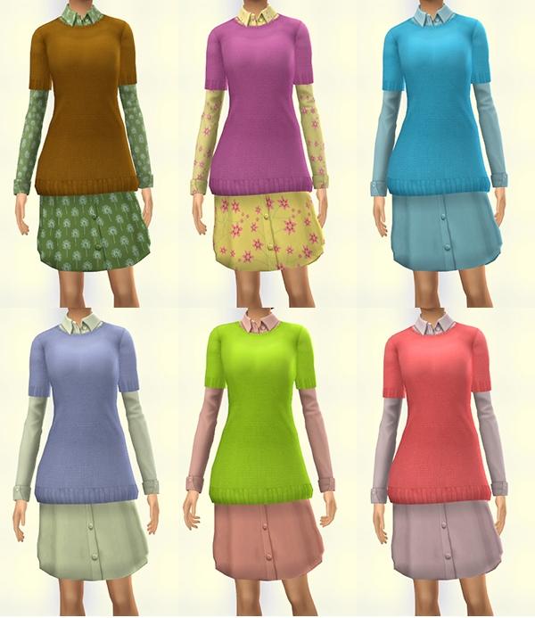 Sims Artists: Dress Rhell