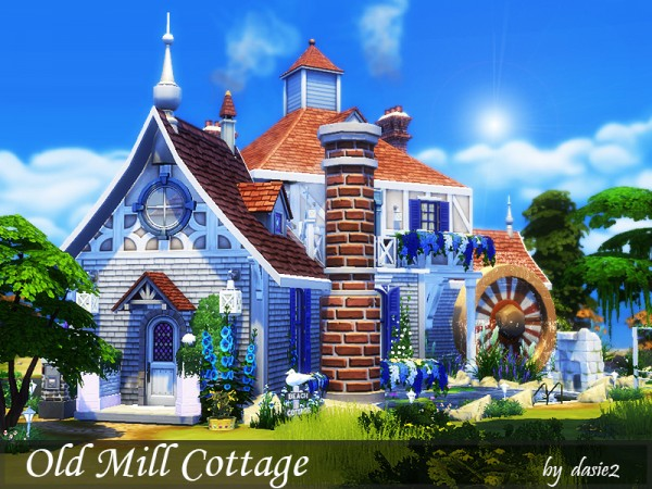 The Sims Resource: Old Mill Cottage by dasie2