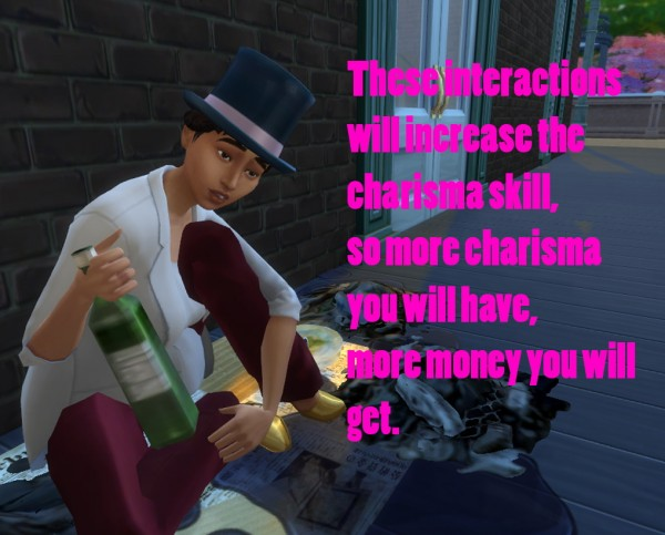 Mod The Sims: Beg for money mod by mome89x