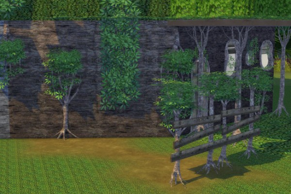 Blackys Sims 4 Zoo: Tree house set by blackypanther