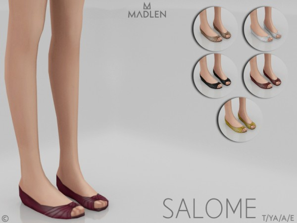 The Sims Resource: Madlen Salome Shoes by MJ95