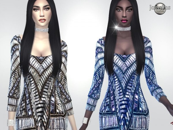 The Sims Resource: Maniel dress by jomsims