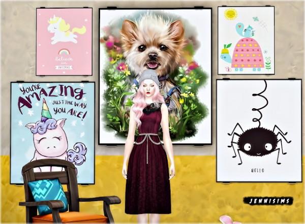 Jenni Sims: Paintings Unicorns Buzz