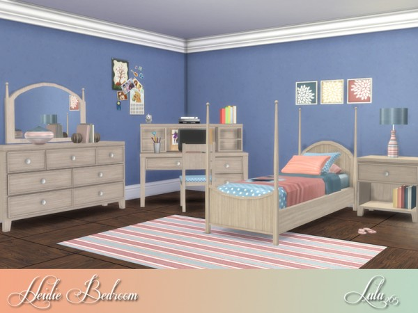 The Sims Resource: Heidi Bedroom by Lulu265