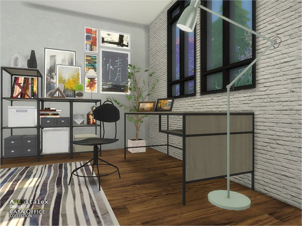 The Sims Resource: Casa Office by ArtVitalex