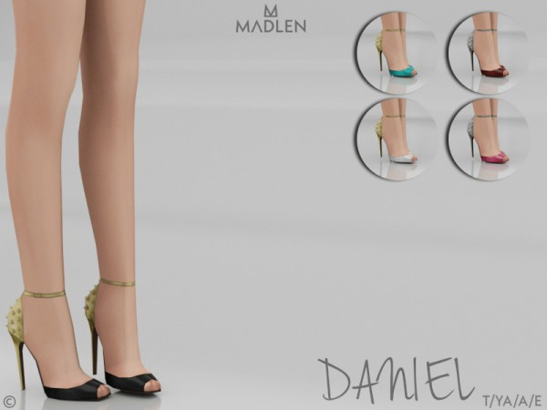 The Sims Resource: Madlen Daniel Shoes by MJ95