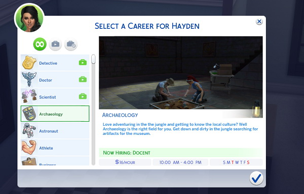 Mod The Sims Archaeology Career By Snowleopard X Sims