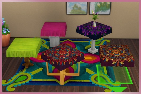 Blackys Sims 4 Zoo: Tablecloth 1x1 by Cappu