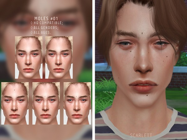 The Sims Resource Moles 01 By Scarlett Content Sims 4 Downloads