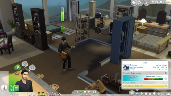 Mod The Sims: Music Career by GoBananas
