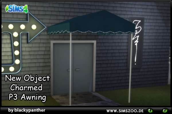 Blackys Sims 4 Zoo: Charmed Awning by blackypanther