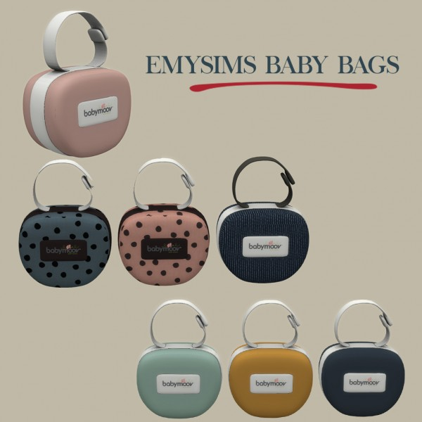 Leo 4 Sims: Decor baby bag