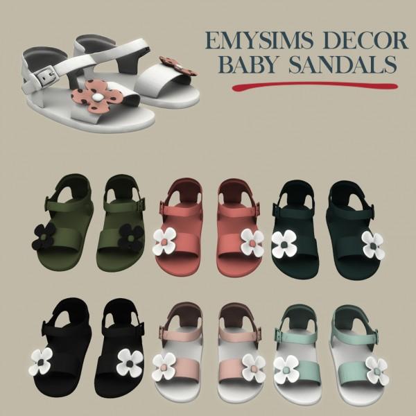 Leo 4 Sims: Decor baby sandals