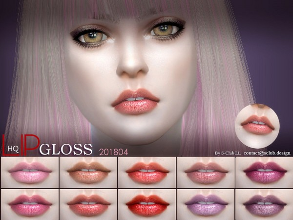 The Sims Resource: Lip 201804 by S Club