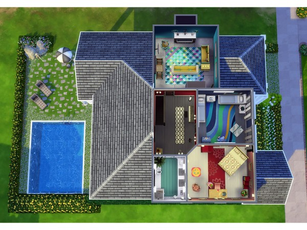 The Sims Resource: Waterlock house by Degera