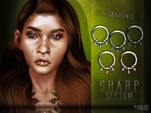 The Sims Resource: Sharp Septum by Blahberry Pancake