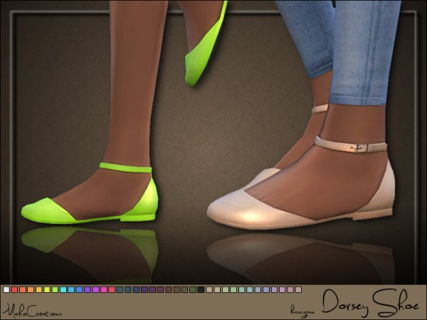 The Sims Resource: Dorsey Shoes by MahoCreations