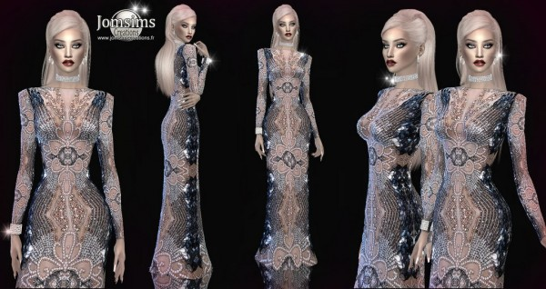Jom Sims Creations: Aprisetia dress