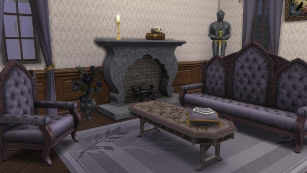 Mod The Sims: Gothic Set converted from TS3 by TheJim07