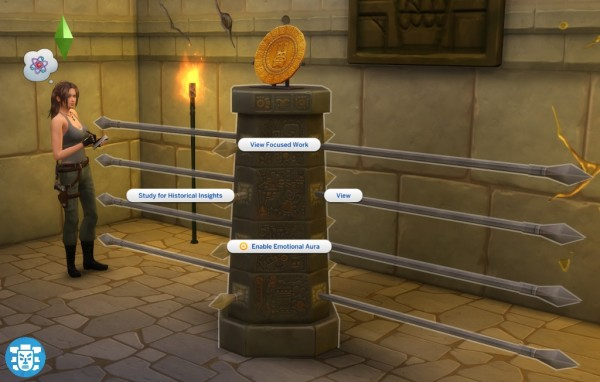 Mod The Sims Totem Spear Trap By S Ri Sims 4 Downloads