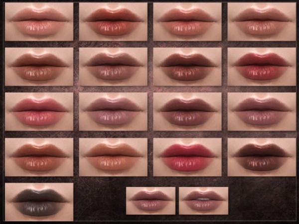The Sims Resource: Compartment Lipstick by RemusSirion