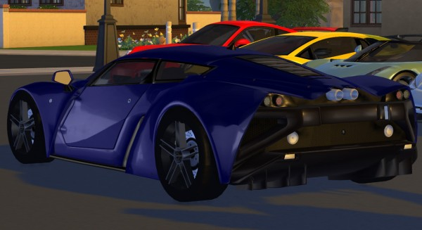 Tylerw Cars: 2009 Marussia B2 • Sims 4 Downloads