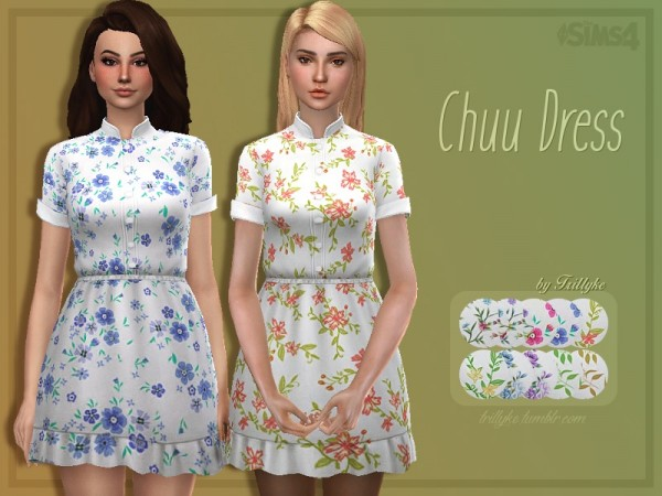 The Sims Resource: Chuu Dress by Trillyke
