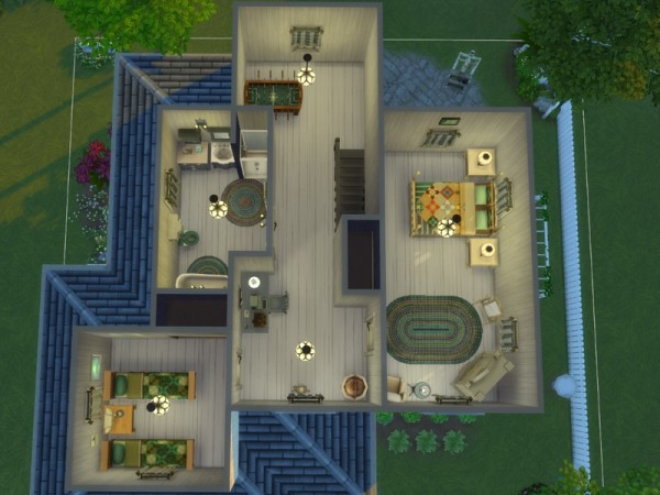 The Sims Resource: Weathered Cottage by texxasrose