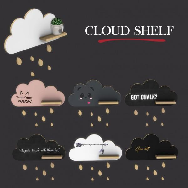 Leo 4 Sims: Cloud Shelf Recolored