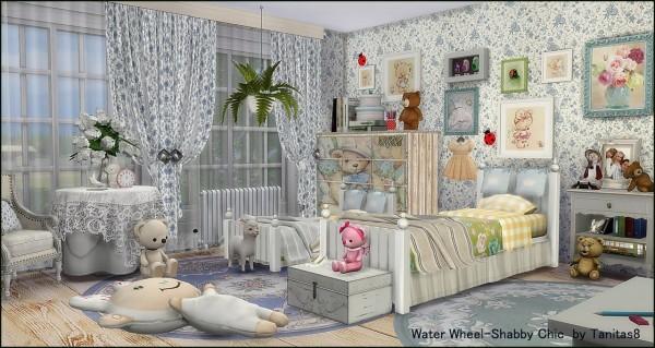 Tanitas Sims: Water Wheel Shabby Chic