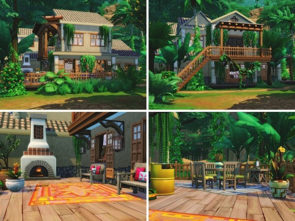 The Sims Resource: Bustling Jungle by MychQQQ