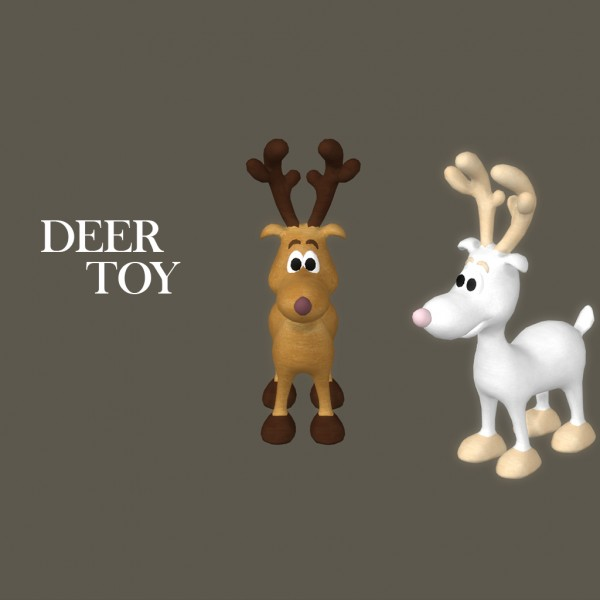 Leo 4 Sims Toy Deer Sims 4 Downloads