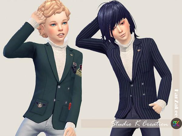 Studio K Creation: Giruto 30  Blazers Suit Jackets for child