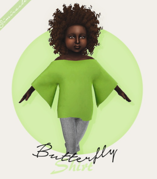 Simiracle: Butterfly Shirt   Toddler Version