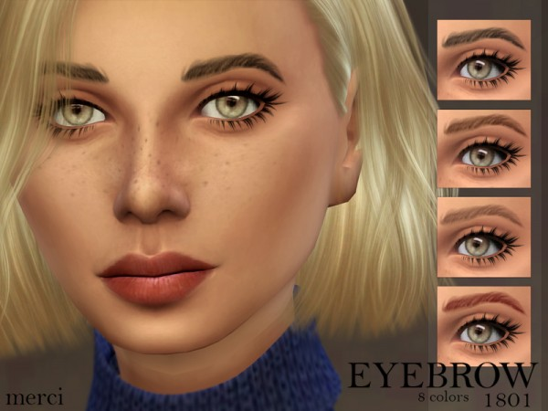 The Sims Resource: Eyebrow 1801 by Merci