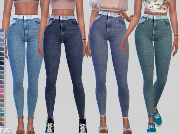 The Sims Resource: Urban Legend Denim Jeans by Pinkzombiecupcakes