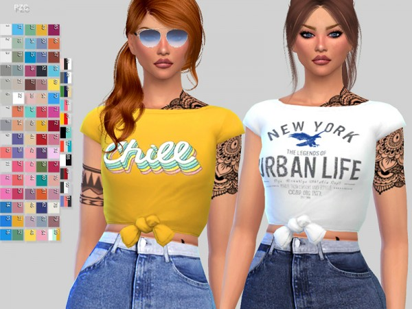 The Sims Resource: Paper Towns T shirt by Pinkzombiecupcakes