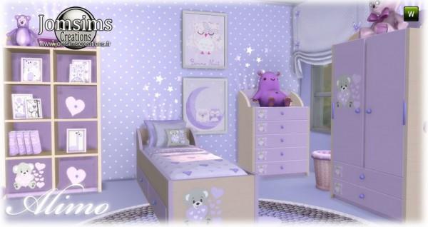 Jom Sims Creations: Alimo kidsroom