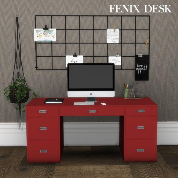 Leo 4 Sims: Fenix desk