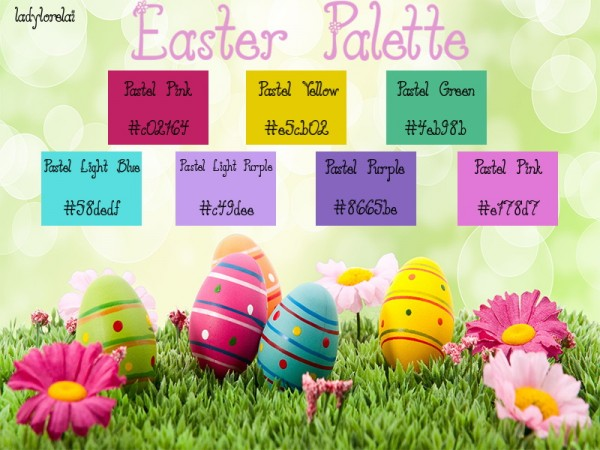 Simsworkshop: Easter Photoshop Palette by LadyLorelai